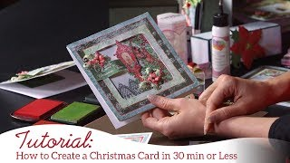 How to Create Christmas Cards in 30 Minutes or Less