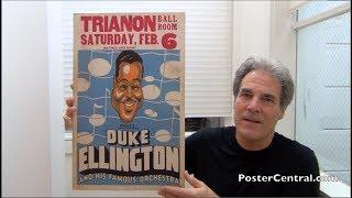 Duke Ellington 1930's Concert Poster Art-Deco Masterpiece