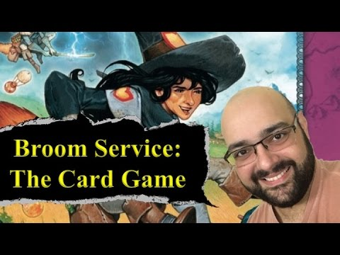 Broom Service The Card Game Review - with Zee Garcia