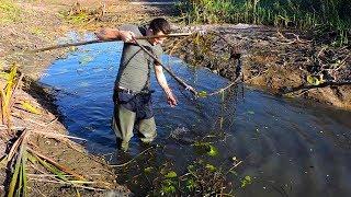 Как сделать черпак для ловли рыбы