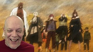 """REACTION VIDEO   """"Shippuden"""" Clips - The 5 Kage Are Ready To Rock!"""