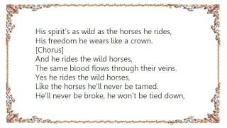 Chris LeDoux - He Rides the Wild Horses Lyrics