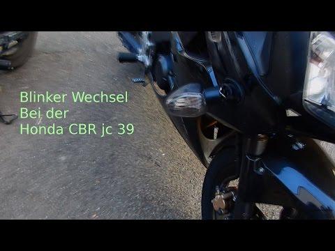 Blinker wecksel #HondaCBRjc39