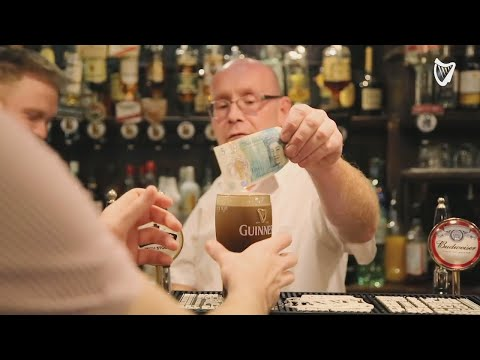 WATCH: Can you walk into a pub in Ireland and buy a pint with pounds? - Here's what Irish barmen ...