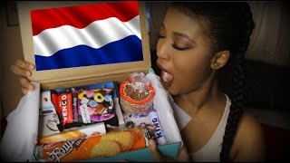 Canadian Tries Netherlands Treats !