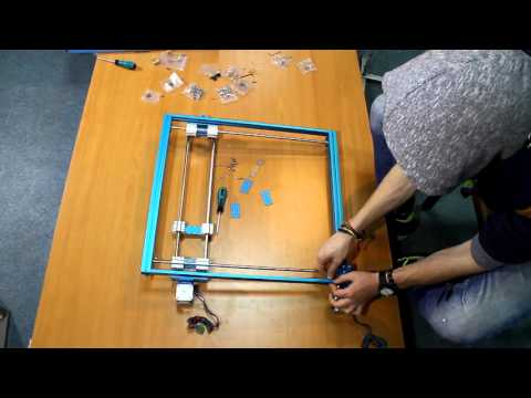 How to assemble MakeBlock XY plotter  - смотреть онлайн на