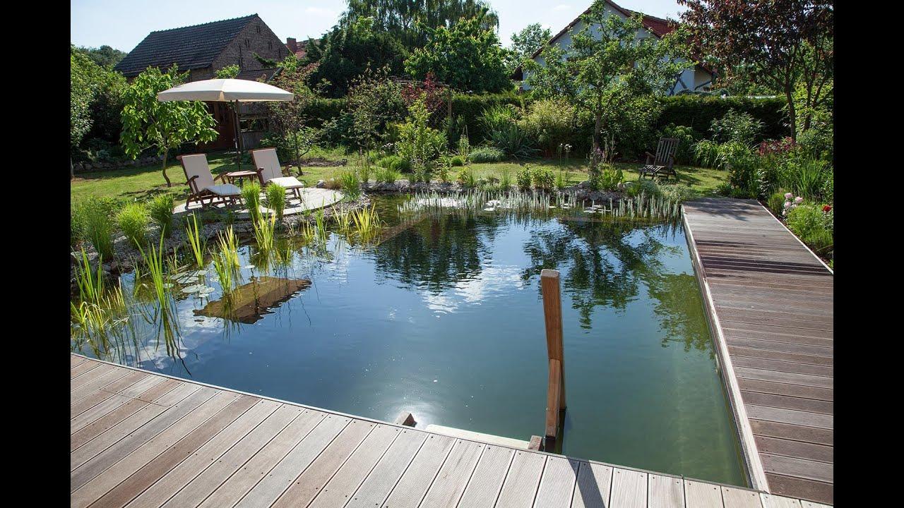 Schwimmteich im Garten selber bauen