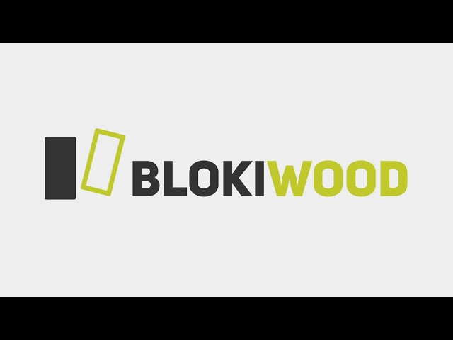 Blokiwood, the 100% wood construction solution!