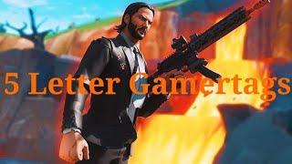 5 letter gamertags - मुफ्त ऑनलाइन वीडियो
