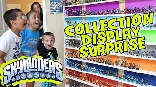 Skylanders Collection Display SURPRISE! Ultimate Toy Storage Organization!