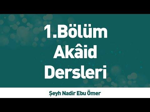 Akaid Dersleri - 1.Bölüm - İLK TV