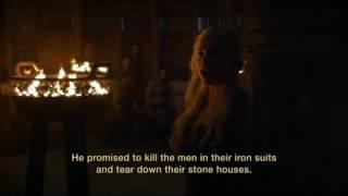 "Daenerys Targaryen ""This is where Drogo promised to take his Khalasar west.."" Game of Thrones S06E04"