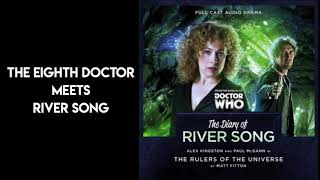 The Eighth Doctor meets River Song | The Rulers of the Universe | Doctor Who