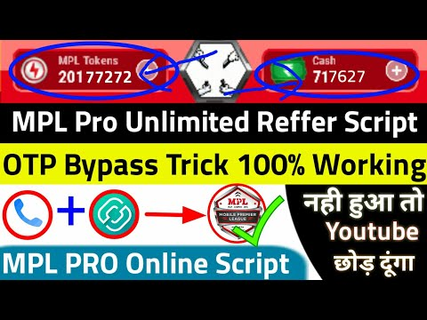 Download Mpl Pro Otp Bypass Trick 100 Working Trick Get