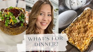 WHAT'S FOR DINNER?| REAL LIFE MEAL IDEAS