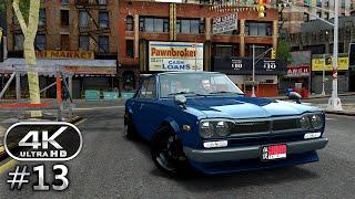 Grand Theft Auto 4 4K Gameplay Walkthrough Part 13 - GTA 4 4K 60fps