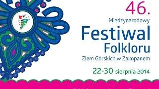 preview picture of video '46. Międzynarodowy Festiwal Folkloru Ziem Górskich w Zakopanem.'
