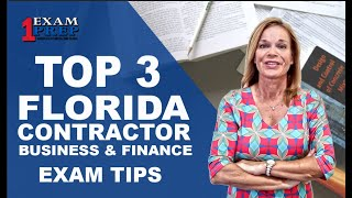 Tips For Florida Business Exam   Contractor Business & Finance Exam
