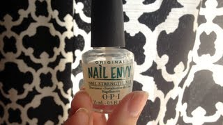 Review & Before/After: OPI Nail Envy Nail Treatment (Original Formula) HD