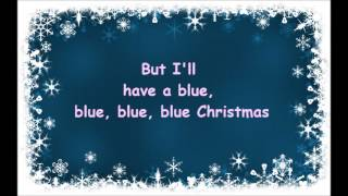 blue christmas elvis presley and martina mcbride lyrics - Blue Christmas Elvis Presley Lyrics