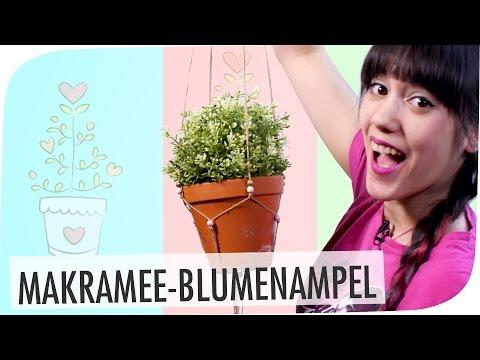 #flipdiy | Makramee-Blumenampel mit breedingunicorns
