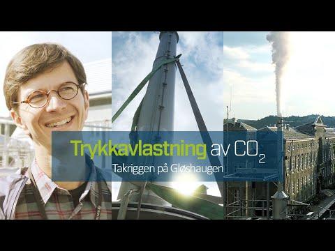 Her får du en smakebit av hva som skjer når forskere tester CO2-transport med fynd og klem.