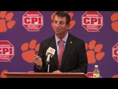 TigerNet.com - Dabo Swinney on win over SC State - 9.17.16