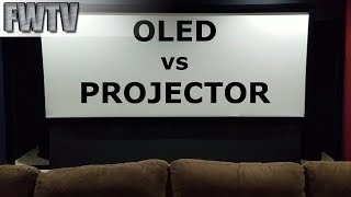 OLED vs Front Projection