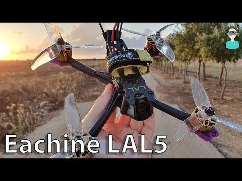 Eachine LAL5 - Setup, Review & Flight Footage