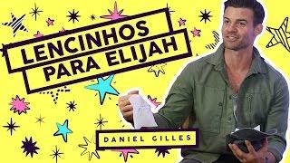 Daniel Gilles Responde As Perguntas Nos Lencinhos De Seu Personagem, Elijah, Em The Originals