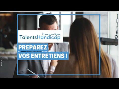 Video Préparez vos entretiens