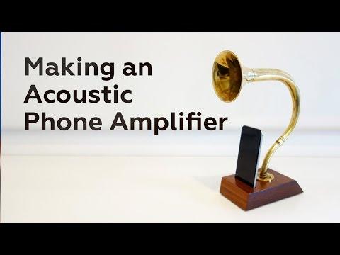 DIY Vintage Lautsprecher - Vom Instrument zum akustischen Lautsprecher für das Smartphone