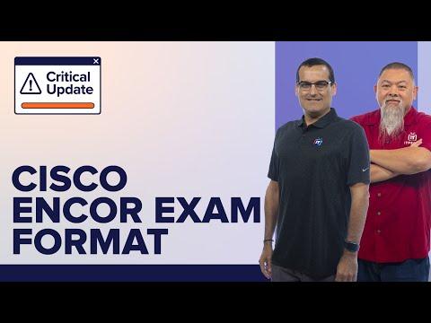 Cisco CCNP ENCOR (350-401) Exam Review | Video Training with ...