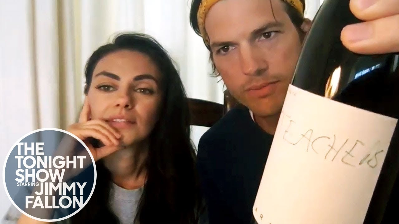 Ashton Kutcher and Mila Kunis Enlist Friends to Teach Their Kids thumbnail