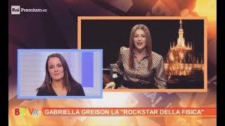 Gabriella Greison ospite a Rai Premium parla di Mileva Maric, Hedy Lamarr e le altre donne della scienza