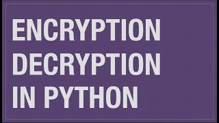 Cryptography.feret python install.