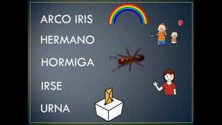 EJERCICIOS ARTICULACION R FUERTE