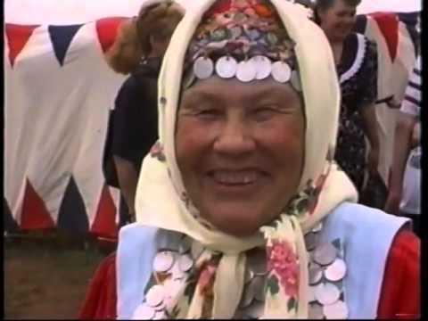 Бижбулякский район, народный праздник сабантуй 1998 год.