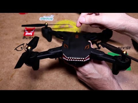 VISUO XS809S 720P Battle Shark Overview Part 1
