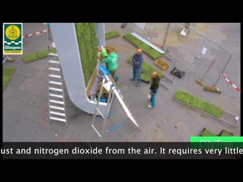 Revolucionarno gradsko drvo za borbu protiv aerozagađenja