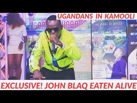 Exclusive! John Blaq Eaten Alive By Ug Girls In London. Twabitegedde