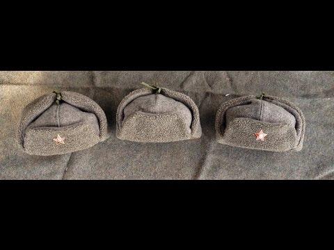 Homemade Soviet WW2 Ushanka M1940 RKKA caps – РККА Ушанка