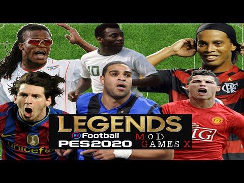 Classic patch PES 2020 - Legends Super PES 2020
