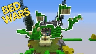Building a MONSTER in Minecraft BEDWARS