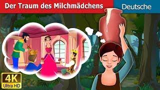 Der Traum des Milchmädchens | Milkmaid's Dream Story in German | Deutsche Märchen