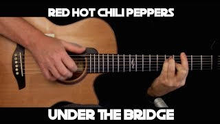 Kelly Valleau - Under The Bridge (Red Hot Chili Peppers) - Fingerstyle Guitar