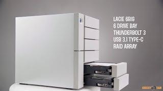 LACIE 6big Thunderbolt 3 6-Bay RAID Storage ARRAY