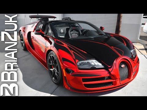 bugatti veyron vitesse l or rouge in detail autoevolution. Black Bedroom Furniture Sets. Home Design Ideas