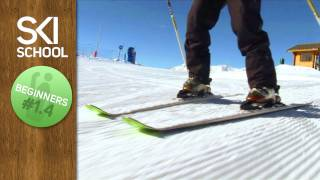 Ski school lesson 4 – Snow plough turns