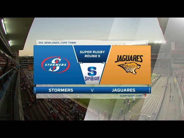 Vodacom Super Rugby | Highlights | Stormers vs Jaguares